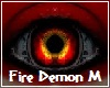 Fire Demon Eyes M