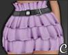 !© Ruffled Skirt Purple