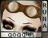 °R° Steampunk Goggles