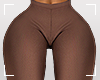 ṩTHICK Pants Brown rll