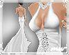 !Wedding Dress plunge wt