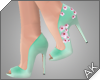 ~AK~ Sakura Heels: Mint