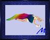 Rainbow Nap Blankie Pose