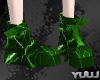 Couple Anim Green Boots