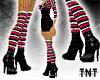 LilPunkette Boots-Stripe