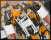 Orange Camo Long Sleeve