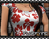 !F Floral Shirt