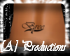 Bree lower back tattoo