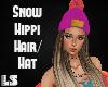 Snow Hippi Hair/Hat