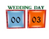 MS Wed Day Pic Frames