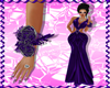 Prom Purple Corsage