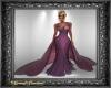 Purple Gown w Train