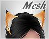 *S Pierced Fox Ears