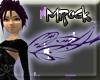 (MR) purple tribal wings