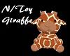 Nursery Stuffed Giraffe