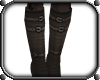 Simple Belted Boots*brn*