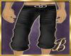 black denim shorties