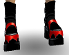 !! red&black boots
