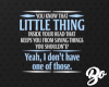 No LittleThing