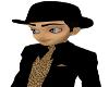 men black derby hat