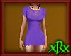 Lacy Dress Purple