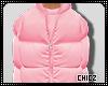 Cz!! Pink Bubble Coat