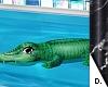 e Aligator float
