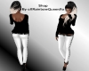 RQ-Black -White Outfit