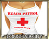 beach patrol woman