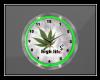 Marijuana clock