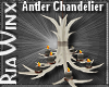 Wx:MC Antler Chandelier
