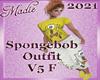SpongeBob Outfit V5 F