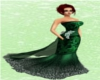 Emerald Fire Gown