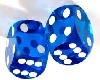 DICE ROLLING Amin. BLUE