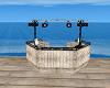 Beach Wedding DJ Booth