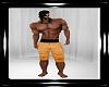 yellow  longe shorts