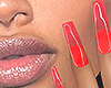 I│Jelly Nails Red