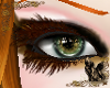 Brown Feather Lashes