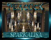 (SL) Peacock Chandelier
