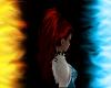 long Hair red black