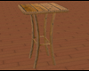 Rustic Cafe Table