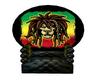 King Rasta Lion Throne