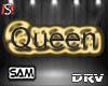 gray Queen Head Sign