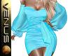 ~V~Cocktail Dress Blue