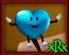 Little Heart Pet Blue