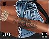 Ez| Left Arm Tattoo