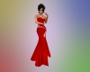 DUTCHESS GOWN RED