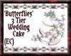 {EC}3 Tier Wedding Cake