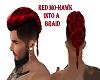 RED/MO-HAWK/INTO/A/BRAID