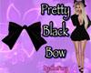 Pretty Black Bow